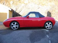 Pellicole auto fiat barchetta(1996 open top)