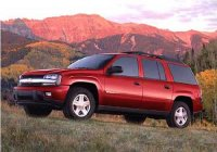 Pellicole auto chevrolet trailblazer(2002 - 2005 EXT)