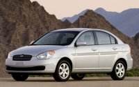 Pellicole auto Hyundai Accent(2007 saloon)