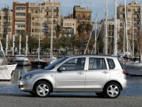 Pellicole auto mazda 2(2003 - 2007 5 porte)