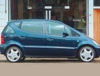 Pellicole auto mercedes classe A(1998 - 2004 largo)