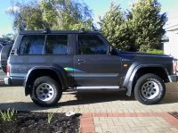 Pellicole auto Nissan Patrol(1998 - 2010 )
