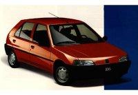 Pellicole auto Peugeot 106(1992 - 1996 5 porte)