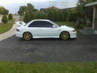 Pellicole auto Subaru impreza(1993 - 2000 2 porte)