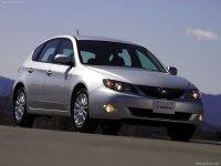 Pellicole auto Subaru impreza(2007 - 2008 5 porte)