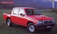 Pellicole auto toyota hi-lux(1997 - 2004 dual cab)